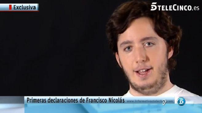 Primeras declaraciones de 'el pequeño Nicolás' en Telecinco.