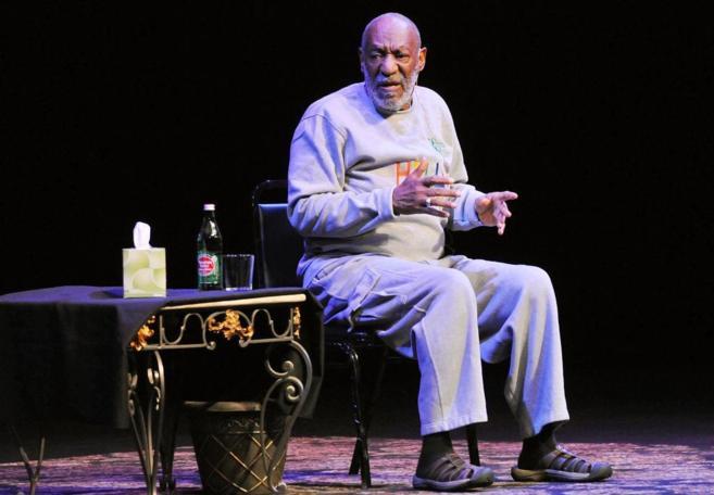 El actor en su actuación en Florida.