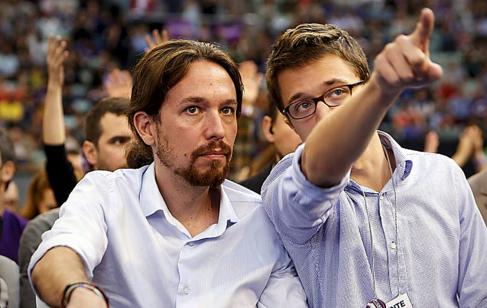 Errejón dirigió la exitosa campaña electoral de Iglesias.