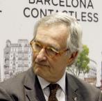 Xavier Trias, esta semana en la Fira de Barcelona.