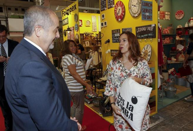 Inauguración del Salón Expohogar a cargo del conseller Felip Puig.