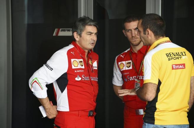 Marco Mattiacci, durante el pasado Gran Premio de Abu Dhabi.