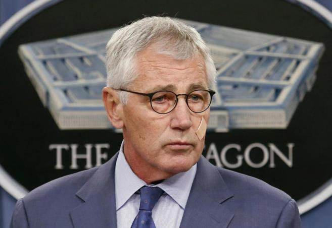 El que fuera hasta ahora secretario de Defensa de EEUU, Chuck Hagel,...