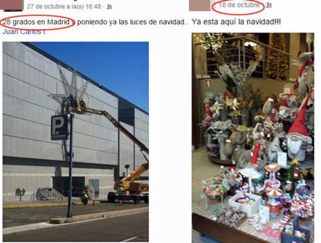 Dos ejemplos de 'Prenavidad'  compartidos en Facebook.