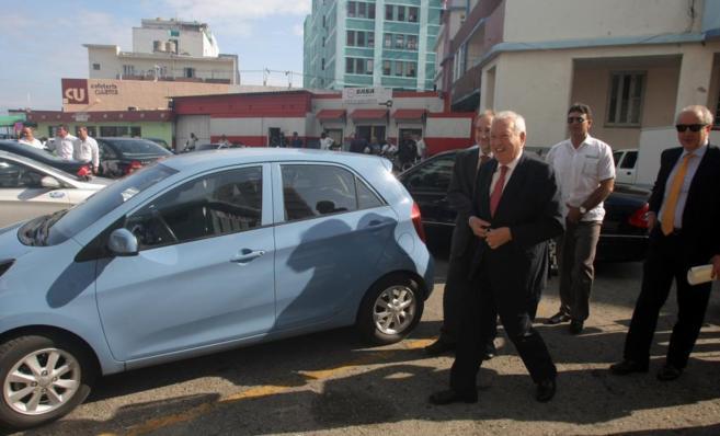 José Manuel García Margallo, en La Habana.