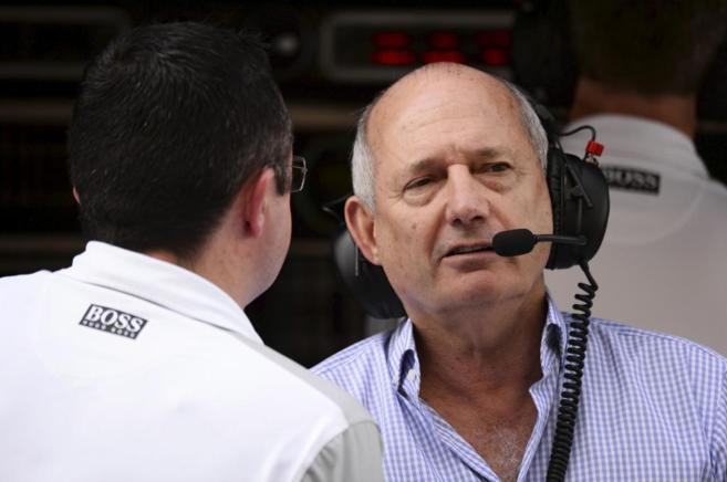 Ron Dennis, responsable de McLaren.
