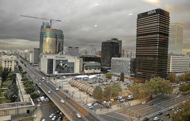 Imagen panorámica de la parcela vendida por Adif a El Corte Inglés...