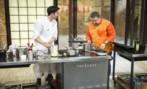 David García y Alberto Chicote durante uno de los programas de...