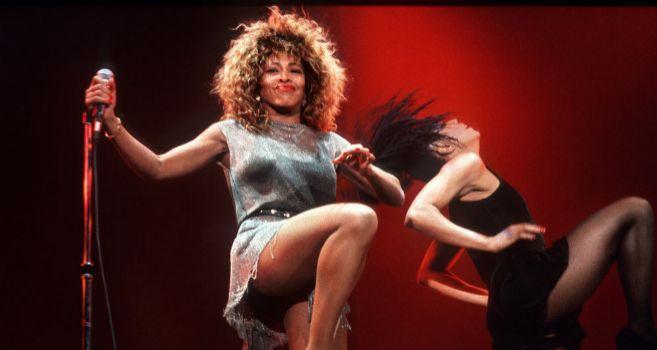 Tina, durante una de sus actuaciones.