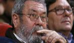 El secretario general de UGT, Cándido Méndez, participa en un foro...