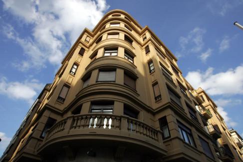 Edificio de viviendas en el centro de Irún