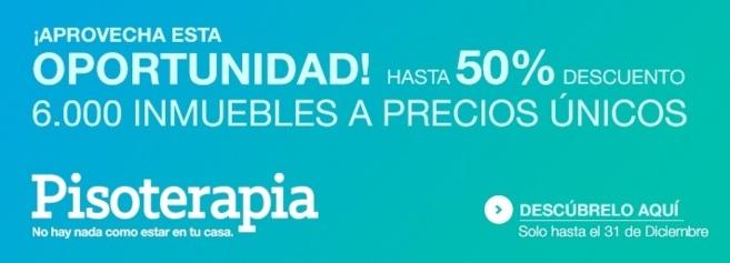 Imagen del cartel promocional de la selección de viviendas de Bankia...