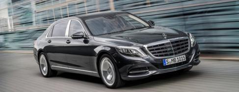 Vea aquí fotografías del Mercedes Maybach S600