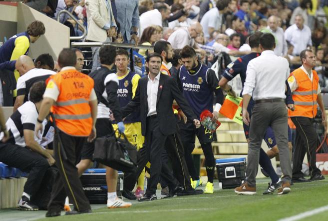 Marcelino García, técnico del Villarreal C.F.
