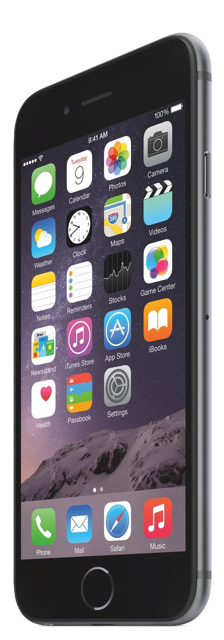 """<STRONG>MEJOR MÓVIL DE MENOS DE 5"""" / EL REY CRECE.</STRONG>  Era un secreto a voces. El iPhone tenía que crecer. Y lo ha hecho. La pantalla aumenta hasta las 4,7 pulgadas y estrena una nueva resolución de 1.334 x 750 píxeles. Apple ha lanzado también un phablet para acompañar al iPhone 6 -el iPhone 6 Plus-, pero es el modelo más compacto el que ha logrado seducirnos. Por su acabado, potencia y calidad se convierte en nuestro mejor teléfono móvil de 2014. www.apple.es"""