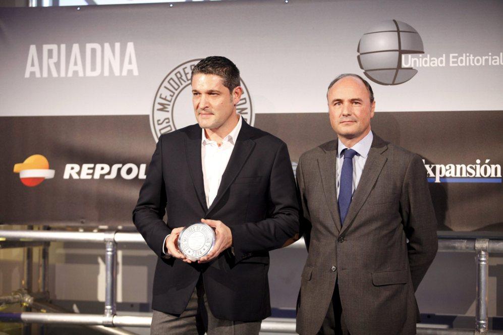 <strong> MEJOR CÁMARA / GOPRO 4. </STRONG>. Xavier Meseguer Casas, CEO de Kpsport, recogió el accésit por la GoPro Hero 4.