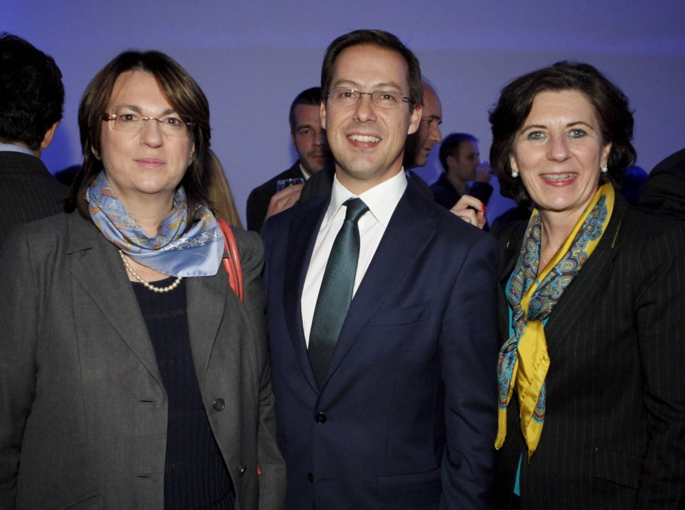 Ana Isabel Pereda, directora de expansión, con Javier Cabrerizo,...