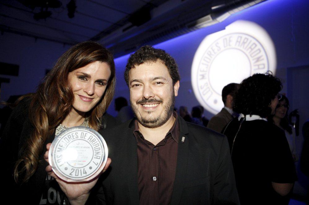Miguel Angel Díez Ferreira, fundador y CEO de Red Karaoke, muestra su...