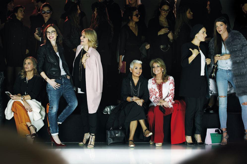 De izda. a dcha.: Alejandra Sánchez-Ramade, creadora de la marca de...