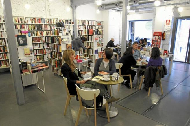 Librería Tipos Infames, en Malasaña.