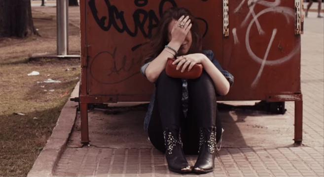 Imagen de la campaña contra la violencia de género implantada por el...