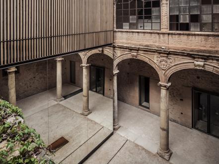 Recuperación del claustro del Palau-Castell de Betxí, del Fabricante...