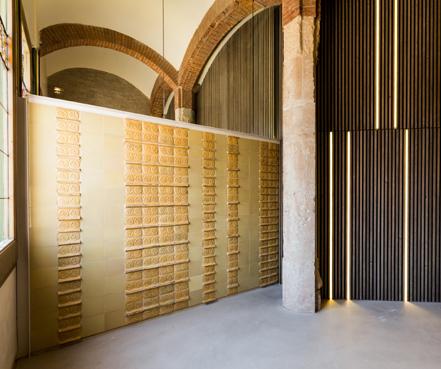 Restauración del Pabellón de Administración del recinto modernista...