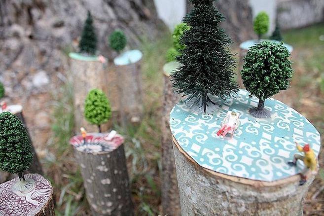 El bosque animado 2012, 'collage'.