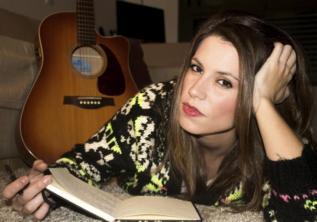 La cantautora Laura Ordóñez.