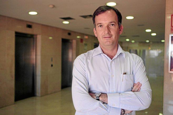 Martín de la Herrán, candidato de UPyD a la Presidencia de la Junta...