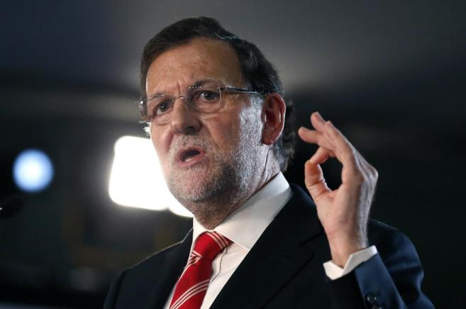 Mariano Rajoy, en un momento de su intervención.