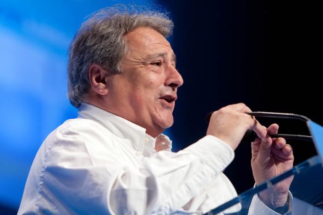 El presidente de la Diputación, Alfonso Rus, durante un acto de...