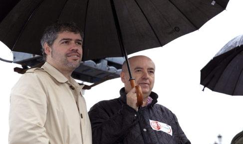Unai Sordo, y Raúl Arza.