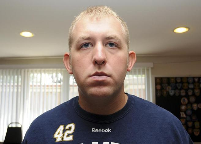 El ya ex policía de Ferguson Darren Wilson.