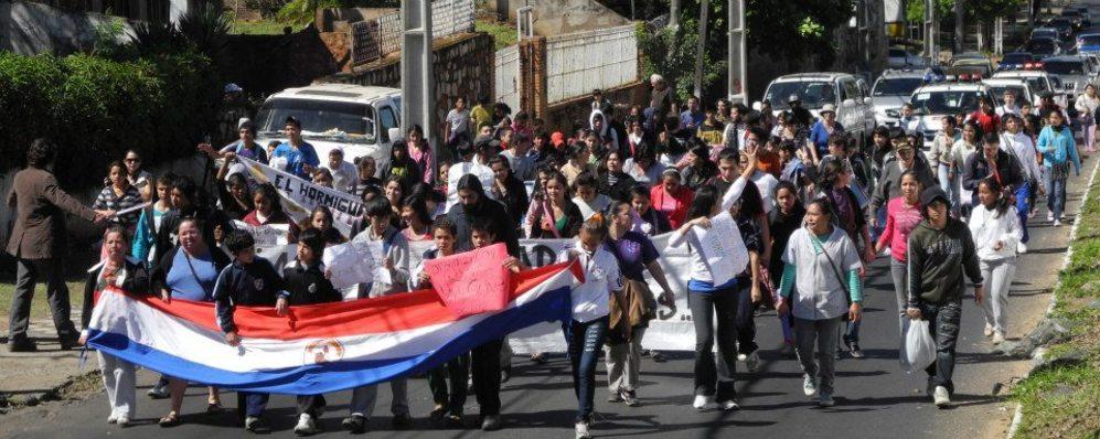 Imagen de una de las marchas de las 'Madres por la salud de sus...