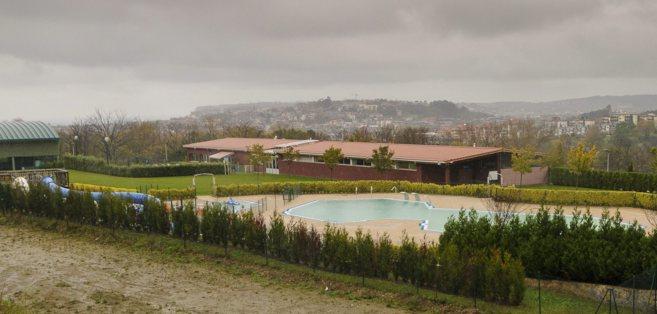 Imagen de las piscinas de Pinosolo en Leioa en el entorno en el que se...