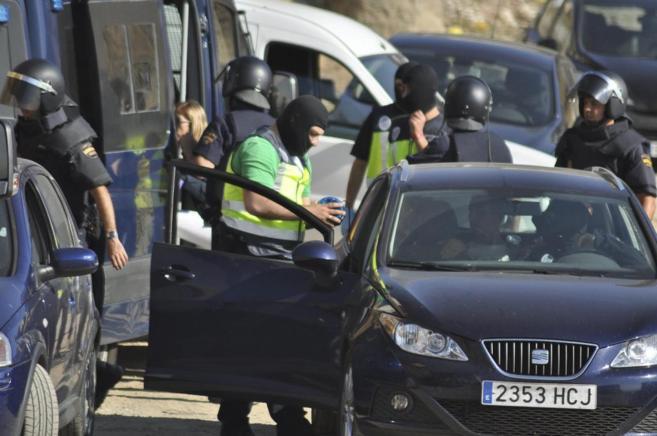 Operación contra islamistas de Ceuta y Castillejos.