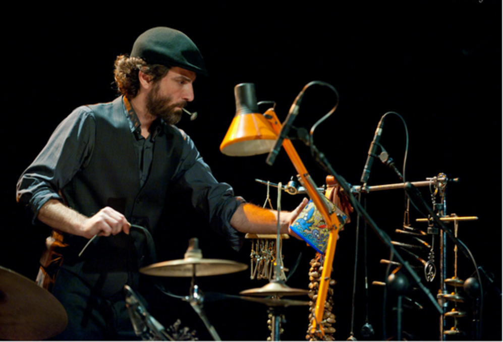 Momento del Festival de intérpretes e instrumentos insólitos.