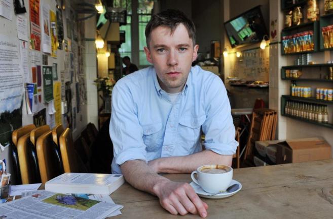 El artista Duncan Campbell.