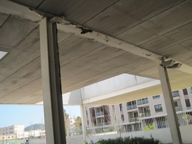 Imagen del estado actual del colegio.