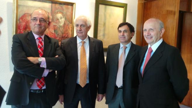 Juan José Rodriguez Sendín, presidente del Consejo General de...