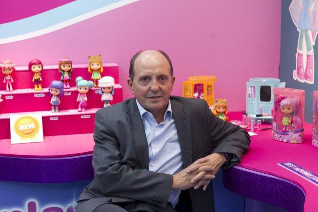 El director general de IMC Toys, Albert Ventura, en el...