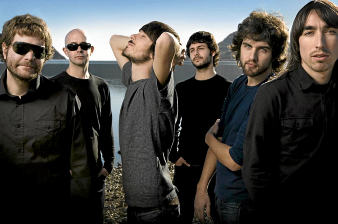 Integrantes del grupo musical Vetusta Morla.