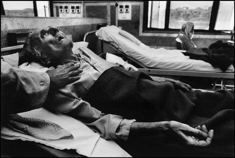 Los pulmones de Sukhdev Dubey no volvieron a funcionar con normalidad...