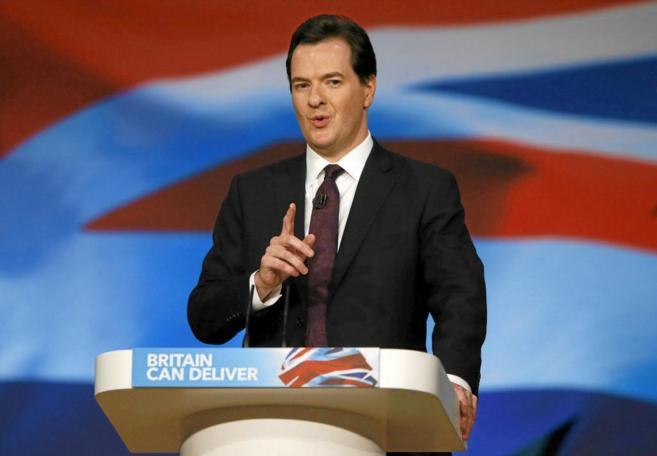 El secretario del Tesoro birtánico, George Osborne.