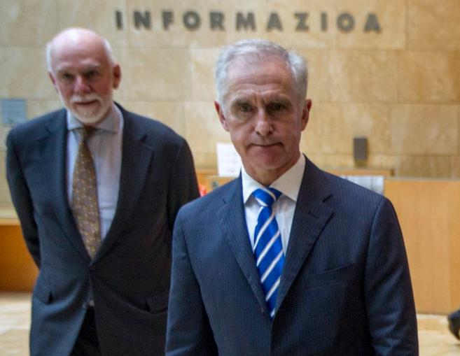 Richard Armstrong y Juan Ignacio Vidarte.