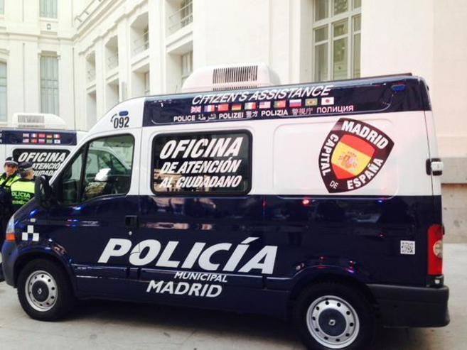 Nueva unidad móvil de Atención al Ciudadano.
