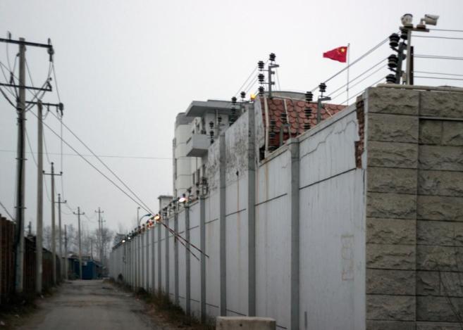 Campo de reeducación para prostitutas chinas.