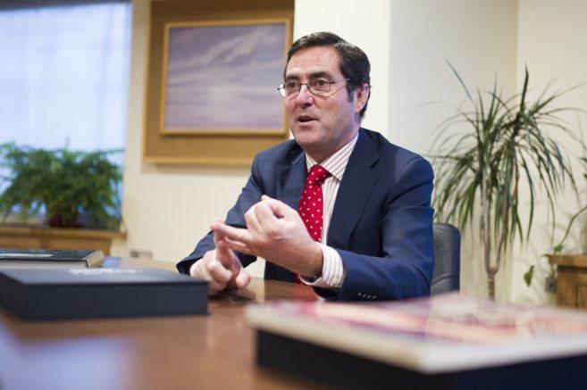 Antonio Garamendi, presidente de Cepyme y candidato a la Presidencia...