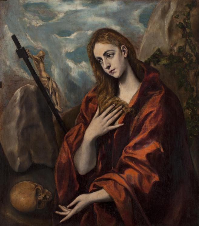 'María Magdalena penitente', uno de los lienzos que...